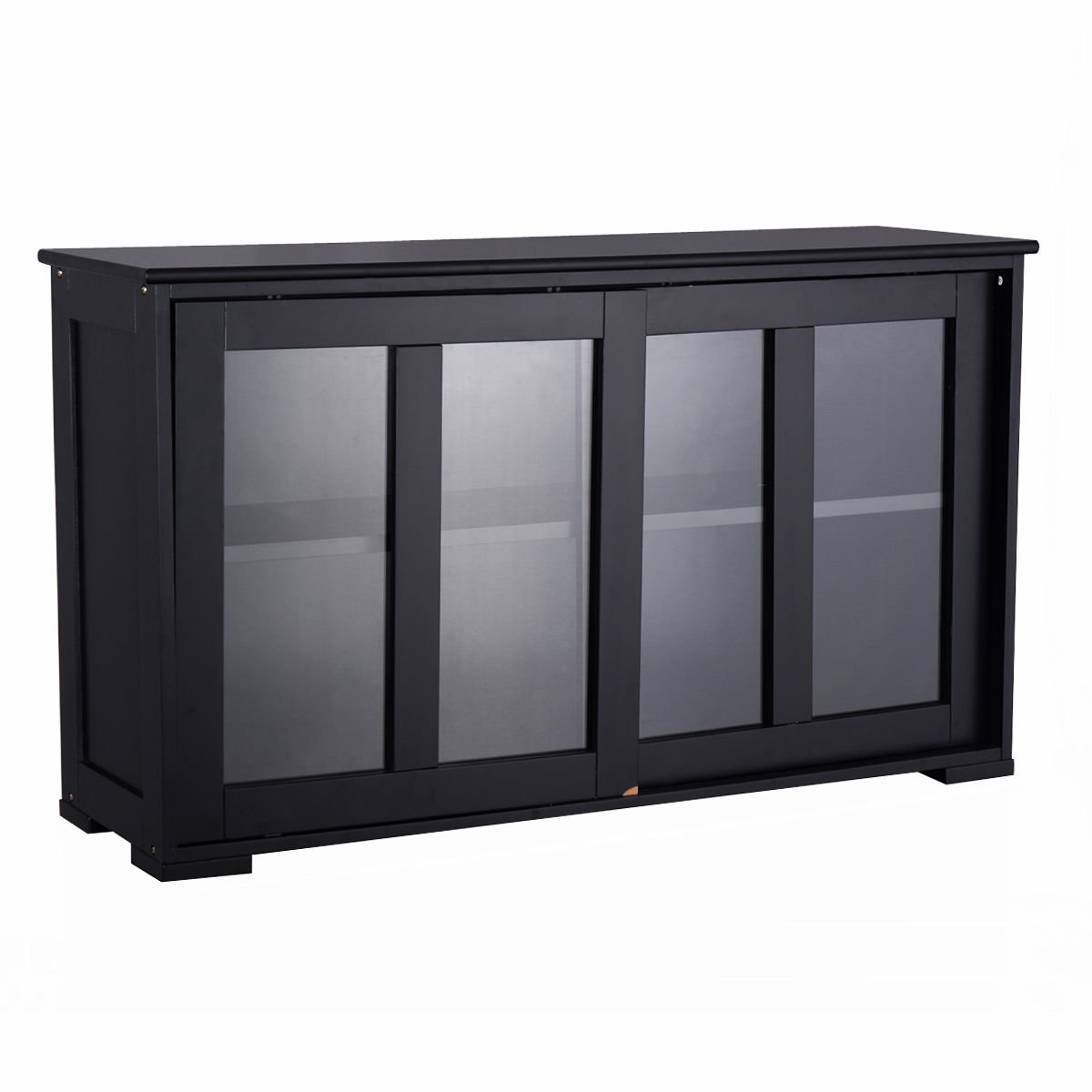 Amazon.com - New Storage Cabinet Sideboard Buffet Cupboard Glass ...