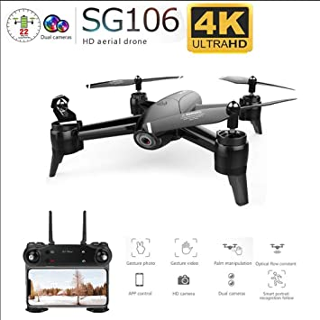 YAYY Drone con cámara WiFi FPV 4K HD,RC Quadcopter RTF Altitude ...