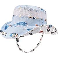 d59d38a078b Baby Sun Hat Double Sides - Toddler Sun Hat UPF 50+ Kids Summer Play Bucket