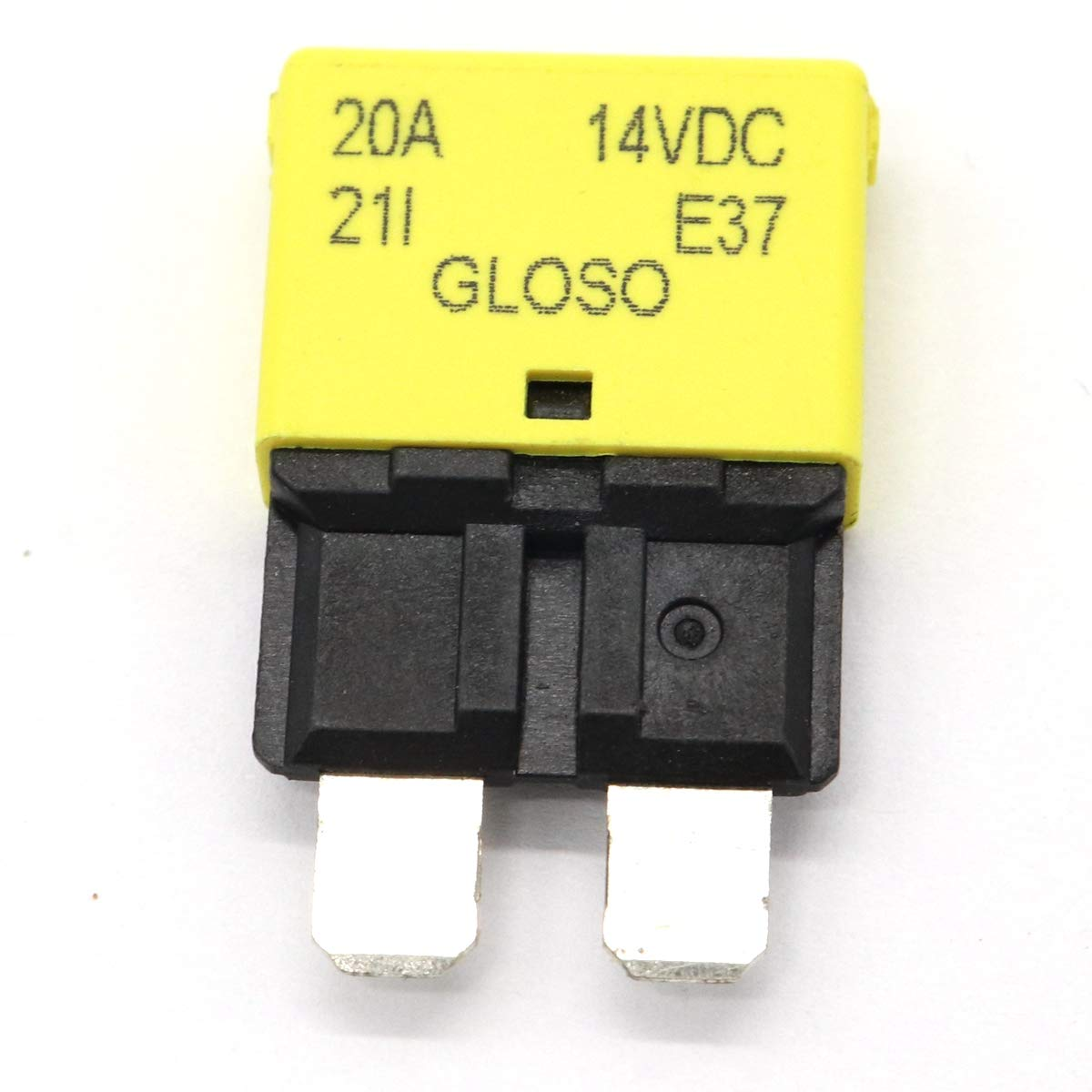 2Pcs Car Marine Audio Inline Circuit Breaker Fuse for System Protection 20A