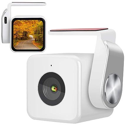 Dash Cam, pantalla LCD Full HD1920X1296P para salpicadero de coche cámara grabadora de 170 grados