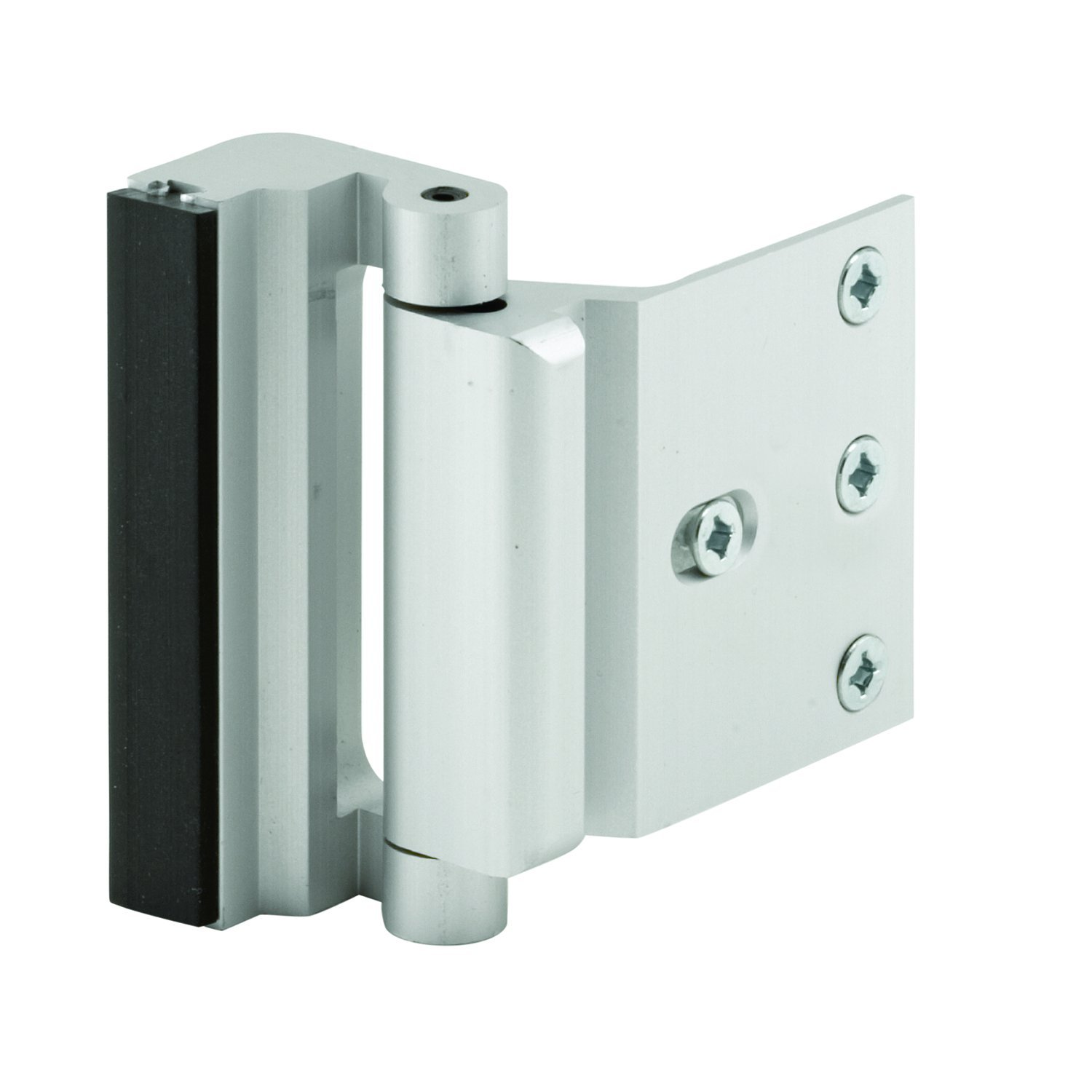 Defender Security U 10827 Door Reinforcement Lock - Add Extra High Security to your Home and Prevent Unauthorized Entry - 3\  Stop Aluminum Construction ...  sc 1 st  Amazon.com & Defender Security U 10827 Door Reinforcement Lock - Add Extra ...