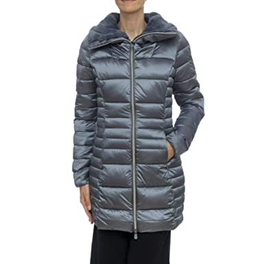 new style 56129 81957 SAVE THE DUCK Cappotto Donna MOD. D4366WIRIS9 Midgrey ...
