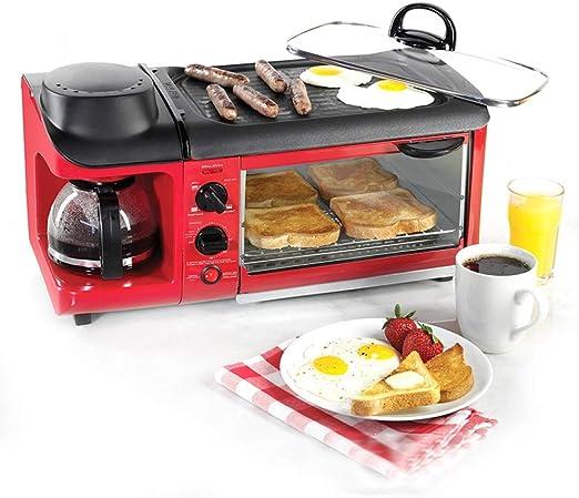 Hydz Barra de Desayuno máquina de Desayuno multifunción tostadora ...
