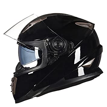 SHANLY Unisex para Adultos De Motocicleta Allround Cascos BMX Ciclismo Off- Road Rally Road Mountain