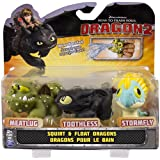DreamWorks Dragons: How To Train Your Dragon 2 - Squirt and Float Dragons