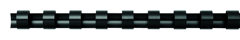 Fellowes Plastikbinder/ücken rund 100 St/ück wei/ß 19mm