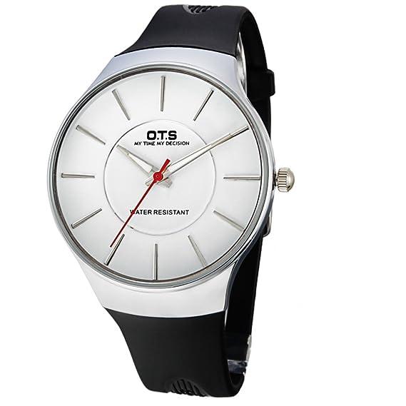 Niños y niñas moda reloj fluorescente/Reloj de cuarzo de deporte al aire libre-C: Amazon.es: Relojes