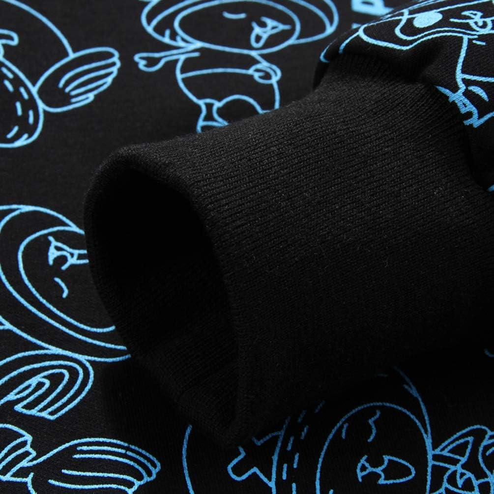Jogging Pantalones De Ch/ándal El/ásticos 2 Piezas Conjuntos Deportivos Casual Impresi/ón De Dibujos Animados Cremallera Chaqueta WanYangg Hombre Tallas Grandes Ch/ándal