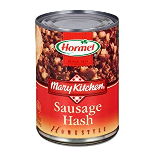 Mary Kitchen Sausage Hash (Pack of 3) 15 oz Cans