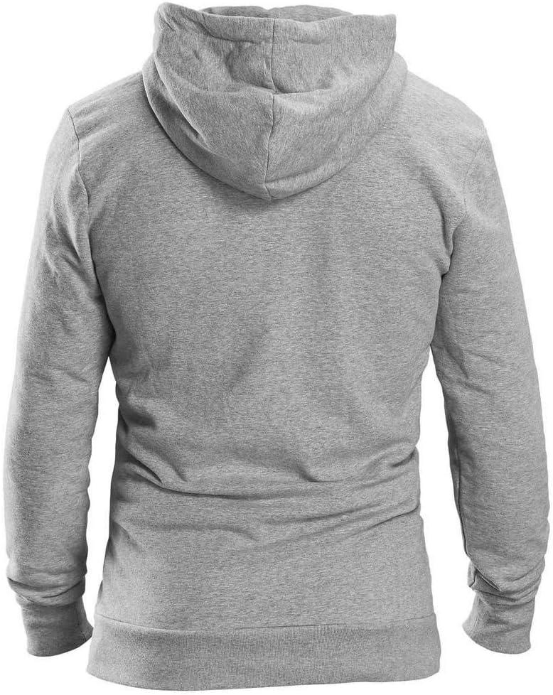 GripGrab Icon Langarm Zipper Hoodie Bio Baumwolle Grey 2020 Hoodies grey