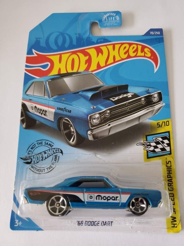 Hot Wheels 2020 /'68 Dodge Dart HW Speed Graphics Blue nuevo /& OVP