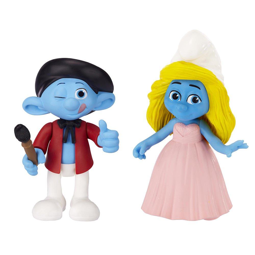 Smurfs Grab Ems Smurfette /& Painter Figure 2 Pack