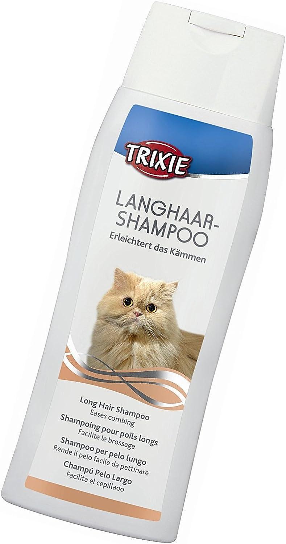 Trixie - Champú para gatos de pelo largo: Amazon.es: Productos ...