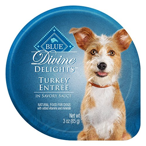 Blue Buffalo Divine Delights Turkey in Sauce Wet Dog Food, 3 oz, Pack of 12