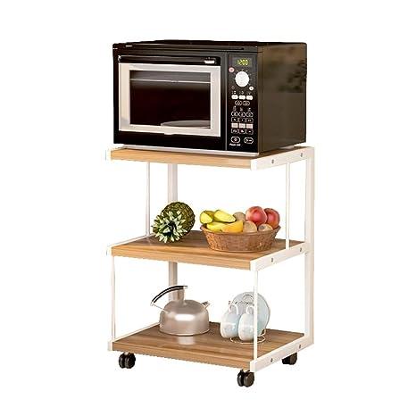 Mueble de cocina de 3 capas Horno de microondas Horquilla ...
