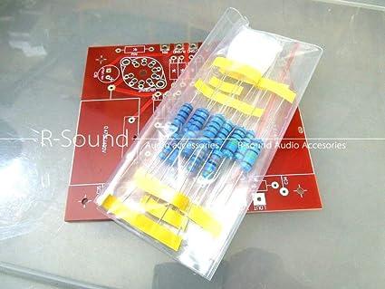 Amazon com: FidgetFidget HiFi Preamplifier PCB Bare Bulk Kit Board w