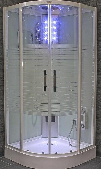 Top AcquaVapore DTP8068-1010 Dusche Duschtempel Komplett Duschkabine  DF32