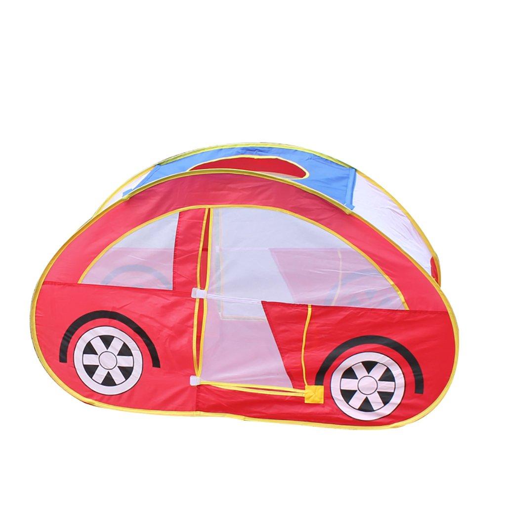 NAUY- Spielzeug & Spiele Kinder Spielzelt Spiel Playhouse Kinderspielzeug Spielhaus Innen-und Außenbereich Kinderspielzelt 1-5 Jahre alten Auto-Zelt