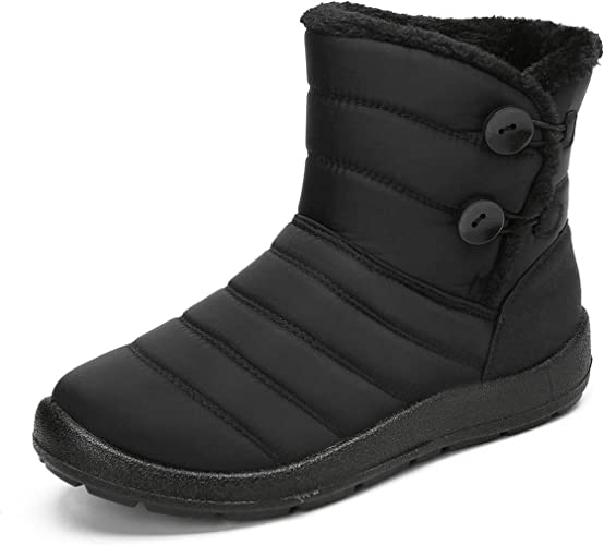 gracosy Waterproof Snow Boots for Women