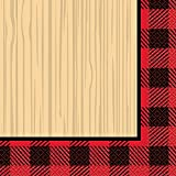 Unique 58292 Buffalo Plaid Lumberjack Party Napkins, 16-Count, Multicolor