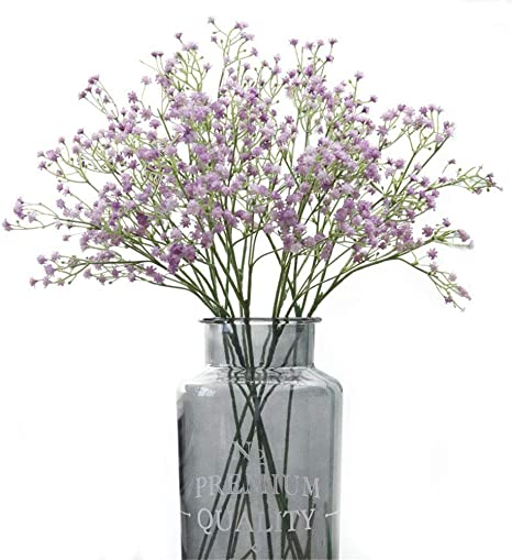 3 Stems Artificial Gypsoplia Baby's Breath Silk Flower Home Wedding Garden Decor