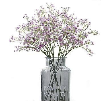 """Crt Gucy flores artificiales 9 21 """"Baby breath/Gypsophila Artificial Plantas de seda"""