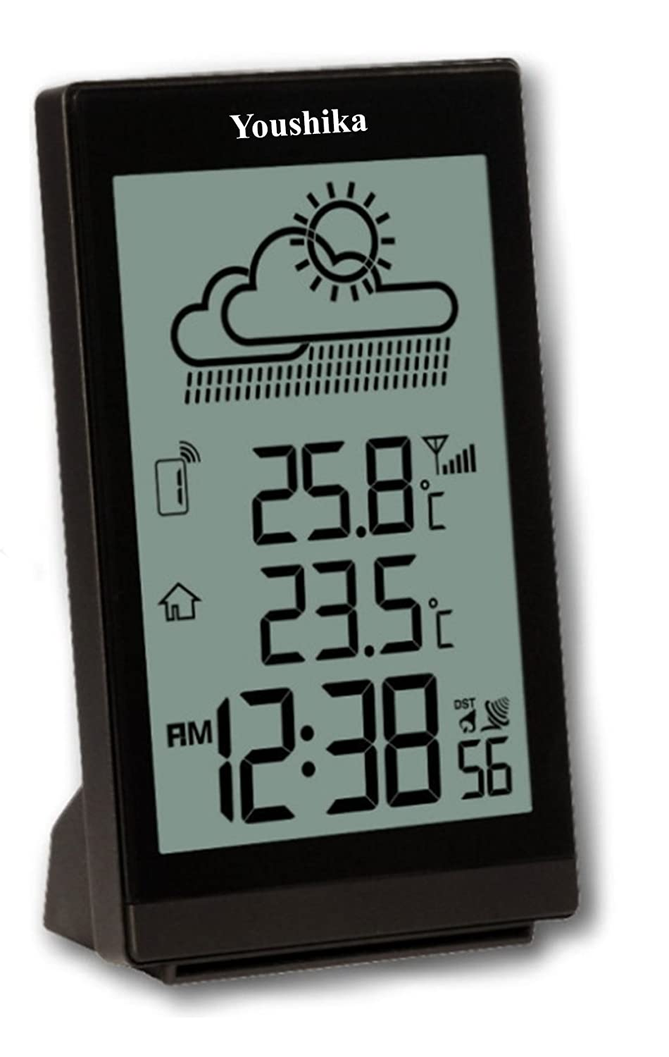 Black Blooming Weather 35.1129.01 Spring Colour Wireless Weather Station