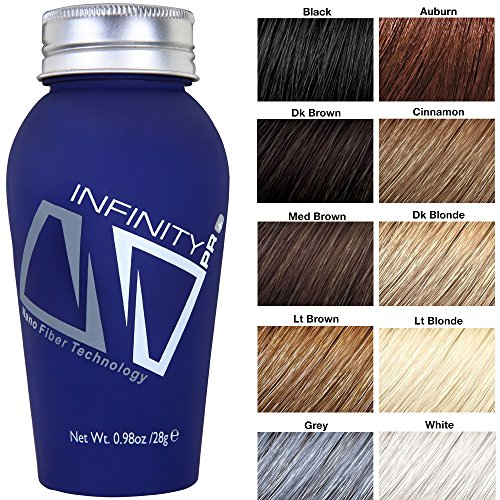 Infinity Hair Fibers, Dark Brown, 60g by Infinity (Image #2)
