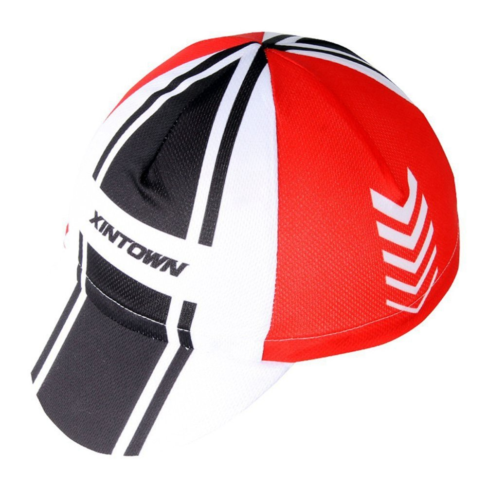Uriah Cycling Cap Breathable Fits Under Helmet Arrow Red