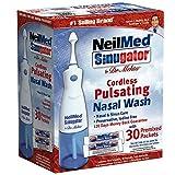 NeilMed Sinugator Cordless Pulsating Nasal Wash, 8 Ounce