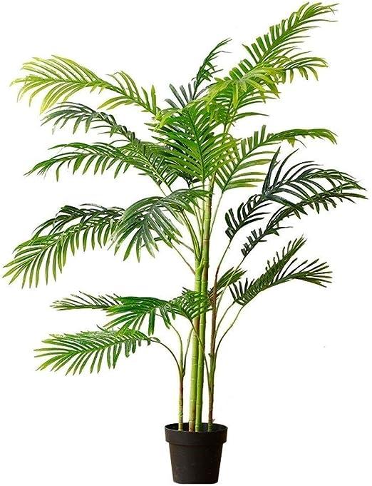 ZJY Árboles Árbol Artificial Hojas Verdes Suministros de Oficina realistas Jardín Plantas Verdes Fiesta Familiar Plantas subtropicales Planta Artificial Duradera Bonsai Árboles Ártificiales: Amazon.es: Hogar