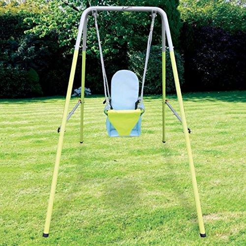 Airwave Outdoor Play Folding Toddler Garden Swing Set