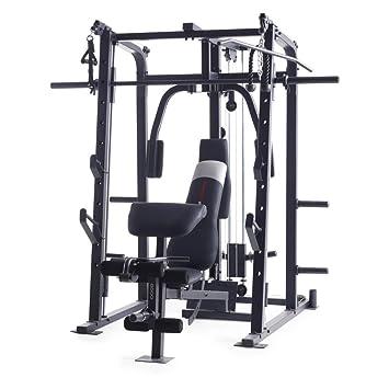 Weider Pro 8500 Smith peso jaula, Negro: Amazon.es: Deportes y ...