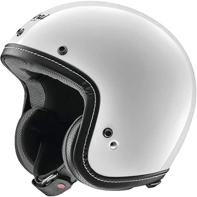 a63b9583 Arai Freeway Classic Bandage Motorcycle Open Helmet In Black: Amazon.co.uk:  Sports & Outdoors