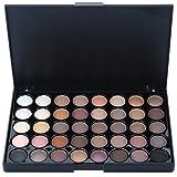 40 Colores Paleta de Sombra de Ojos Paleta de Maquillaje Mate y Brillo Polvo para las Cejas Cosmética Profesional Kit de Maquillaje