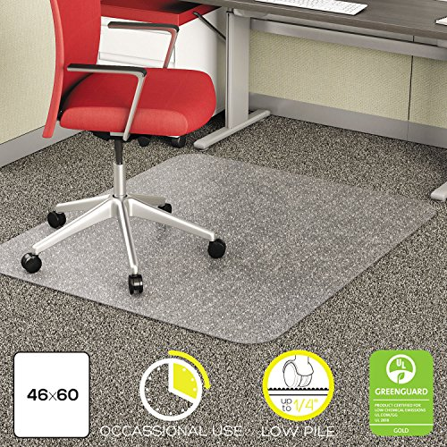 deflect-o® EconoMat® Chair Mat for Low Pile Carpeting by Deflect-O