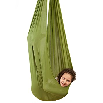 Amazon.com: Indoor Swing for Kids by InYard | Great for Sensory ...