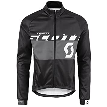 Scott RC Team AS 10 Winter Fahrrad Jacke schwarzgrau 2016