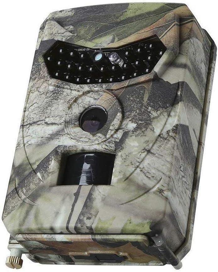 Cam/éra de Chasse Pr-100 HD Infrarouge 1080P cam/éra dimagerie Thermique ABS Vision Nocturne Suivi de la Faune Observer-Multicolore