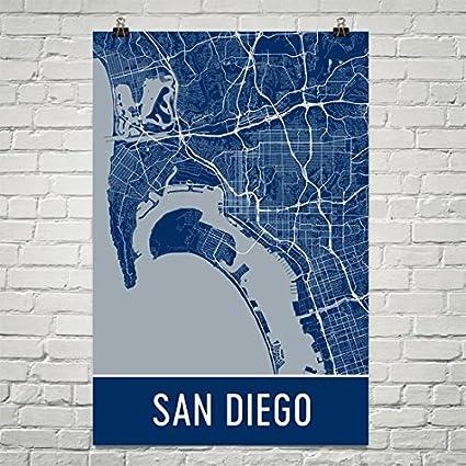 Amazon.com: San Diego Poster, San Diego Art Print, San Diego Wall ...