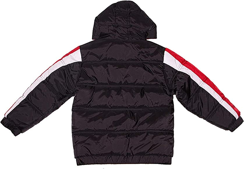 8b4a32074 Amazon.com: Jordan Nike Air Boys' Puffer Bubble Hooded Jacket, 4T (3 ...