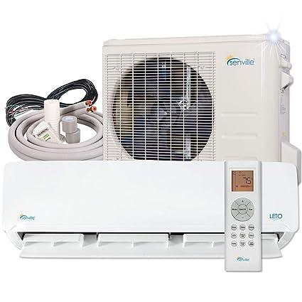 bff62cdfcc5 Senville SENL-24CD 22000 BTU Mini Split Air Conditioner Ductless Heat Pump