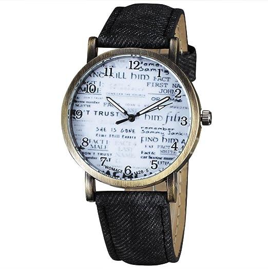 Regalo de la belleza de la moda de Nueva 2015 Womage reloj de diseño de la ...