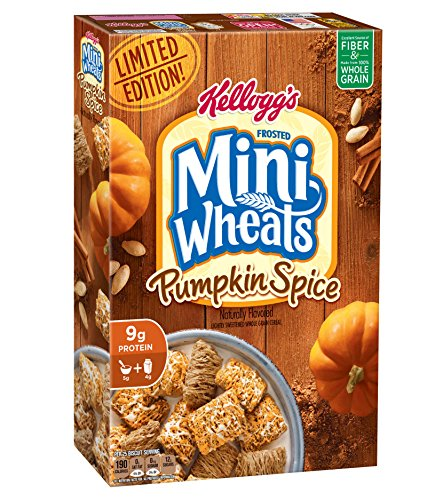 Kellogg's Frosted Mini Wheats Pumpkin Spice, 15.5 Ounce