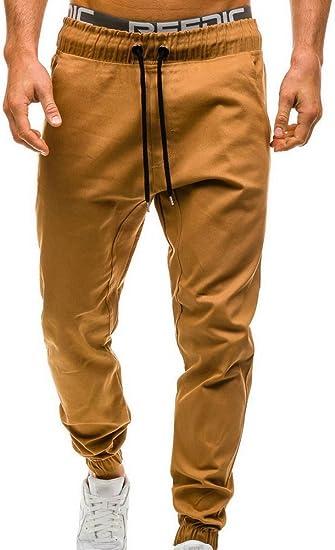 KJHSDNN Pantalones de Chándal Hombre Largos Deportivos Jogging ...