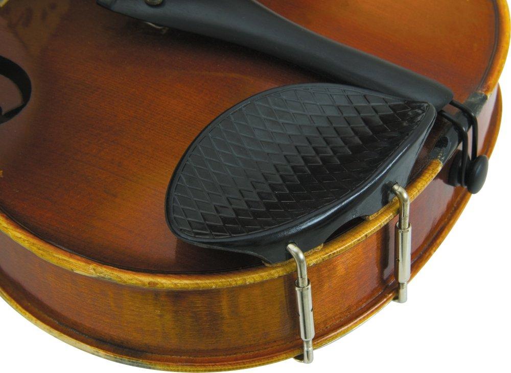 Glaesel 4/4 Violin Ribbed Plastic Chin Rest GL3522