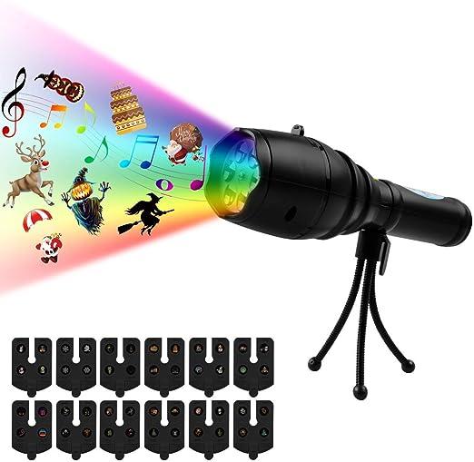 Luces Proyector y Trípode, Atuten LED Luz de Proyección ...