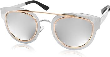 ee7b0a99270 AQS Womens Jolene Arched Brow Bar Sunglasses