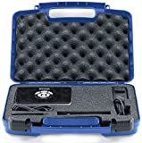 Life Made Better Storage Organizer - Compatible with AAXA P5, P300, P700, P4X, IVATION, Philips, Brookstone Portable Projectors And Accessories - Durable Carrying Case - Blue